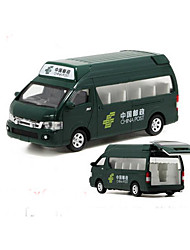 Construction Vehicle Pull Back Vehicles 1:32 Plastic Green
