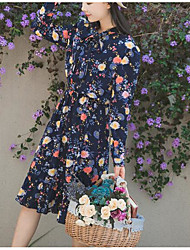Pricing not be less than 68 spot a real shot Korean ladies Floral Dress