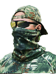 Unisex Neck Gaiters / Neckwarmers/Neck Tube Hunting Leisure Sports Windproof Wearable Protective Spring Fall/Autumn Winter Green