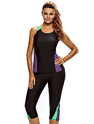 Women's 2pcs Active Bathing Suit Seaside Wetsuit
