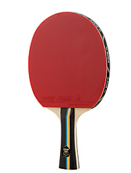 2 Stars Table Tennis Rackets Ping Pang Rubber Long Handle Pimples 1 Racket 1 Table Tennis Bag Outdoor Performance Practise Leisure Sports