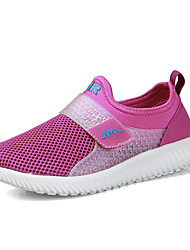 Women's Loafers & Slip-Ons Comfort Couple Shoes Tulle Spring Summer Athletic Casual Outdoor Running Comfort Couple Shoes Magic TapeFlat