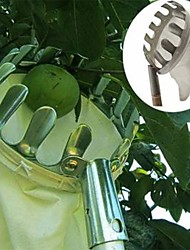 1Pcs Metal Fruit Picker Convenient Horticultural Fruit Picker Gardening Apple Peach Picking Tools