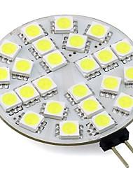 4W G4 LED Bi-pin Lights 24 SMD 5050 350Lm Warm/Cool White AC/DC 12V for Chandelier/Rang Hood/ Boat (1 Piece