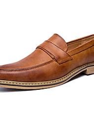 mocassins dos homens&deslizamento-ONS sapatos clube primavera queda sapatos formal microfibra de casamento escritório ao ar