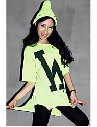 w selvatici nuove lettere coreane donne grandi dimensioni allentate stampate a maniche corte t-shirt femminile