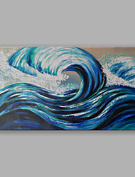 IARTS Modern Design Landscape Ocean Waves Oil Painting on Canvas Knife Art for Wall Decoration