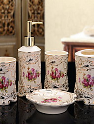 Bathroom Accessory Set  Ceramic /Contemporary