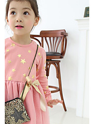 Robe Fille de Décontracté / Quotidien Points Polka Coton Printemps Manches longues