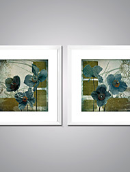 Canvas Prints Flower Painting Picture Print on Canvas with White Frame for Livingroom Decoration