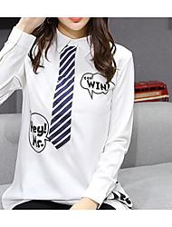 Inscrivez-vous au printemps 2017 version coréenne de la vie collégiale et chemise en mousseline de soie blanche fournisseur de petite