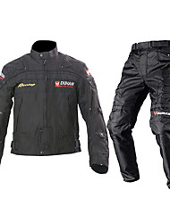 DUHAN Jacket Pants Set Textile All Season Windproof Motorcycle Kidney Belts