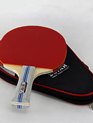 2 Stars Table Tennis Rackets Ping Pang Cork Short Handle Pimples Outdoor Performance Practise Leisure Sports