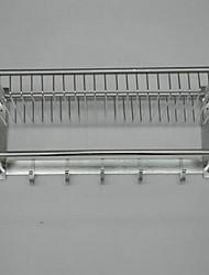 Accroche Serviette et supports Moderne Rectangulaire Aluminium
