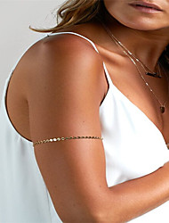 Women's Body Jewelry Body Chain Fashion Copper Geometric Jewelry For Party Special Occasion Sports 1pc