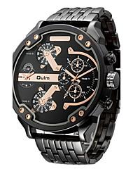 Oulm Masculino Relógio Esportivo Relógio Militar Relógio Elegante Relógio de Moda Relógio de Pulso Bracele Relógio Único Criativo relógio
