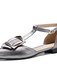 Women's Flats Spring Summer D'Orsay & Two-Piece Comfort Novelty Patent Leather Customized Materials Office & Career Dress Casual Low Heel