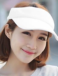 Mujer Verano Vintage Casual Algodón Sombrero para el sol,Un Color