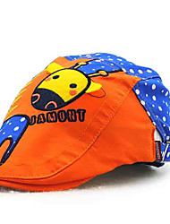 Children's Tide Cool Comfortable Cotton Han Edition Cute Cartoon Hat Animal Sun Hat Peaked Cap