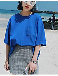 femmes&La version coréenne à manches courtes et coréenne du style harajuku est une t-shirt en vrac en vrac