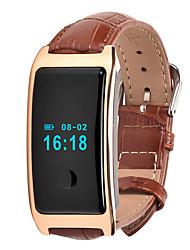 HFQ Bluetooth Bracelet d'ActivitéEtanche Longue Veille Pédomètres Sportif Moniteur de Fréquence Cardiaque Fonction réveille Ecran tactile