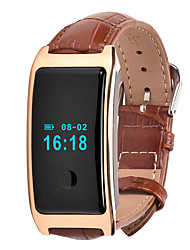 HFQ Bluetooth Smart-ArmbandWasserdicht Long Standby Schrittzähler Sport Herzschlagmonitor Wecker Touchscreen Information Schlaf-Tracker