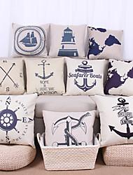 набор из 10 старинных карт подушки мира карта морской матрос якорь парусный компас стиль