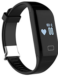Pulseira Inteligente Impermeável / Suspensão Longa / Monitor de Batimento Cardíaco / Monitoramento do Sono Bluetooth 4.0iOS / Android /