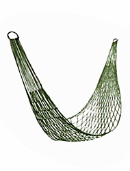 Hammock Hiking Camping Beach Fishing Traveling Hunting Picnic Outdoor Indoor Assorted Colors Nylon Breathability Foldable Nylon-Random color