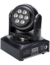 U'King® 50W Double Side 7 LEDs RGB 3 in 1 Moving Head Stage Lighting 11CH DMX Auto Sound Mode 1pcs
