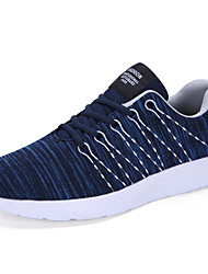 chaussures de sport pour hommes confort printemps été sergé tulle sport course à lacets occasionnels