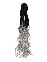 Havana Tranças Curly Extensões de cabelo fibra sintética Tranças de cabelo