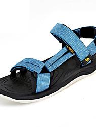 Верблюд женщин открытый стильный спортивные сандалии прочный пляж легкий сандалии цвет белый / синий