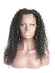 Peruca virgem virgem brasileira da parte dianteira do laço do cabelo da densidade da densidade 130% peruca virgem natural do laço do
