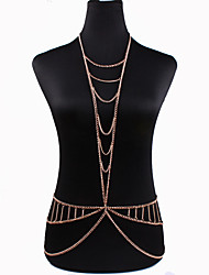 Women's Body Jewelry Body Chain Natural Fashion Bohemian Crystal Alloy Jewelry For Special Occasion Gift Casual