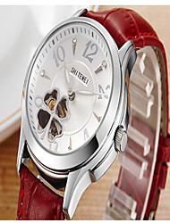Women's Fashion Watch Quartz Leather Band Casual Red Red