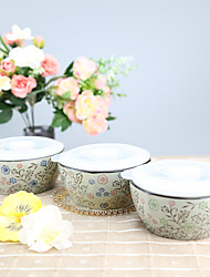 Arika Flowery Styled High Temperature Porcelain Air-tight Bowl Dinnerware