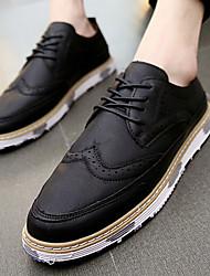 Men's Sneakers Spring Comfort Rubber Casual Flat Heel