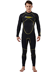 Men's 3mm Full Wetsuit Thermal / Warm Neoprene Diving Suit Long Sleeve Diving Suits-Swimming Diving Spring Summer Fall/Autumn Winter