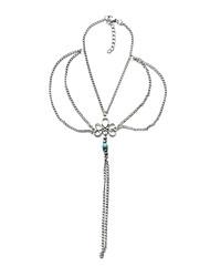 Femme Bracelet de cheville/Bracelet Gemme Alliage Mode Vintage Fait à la main Bijoux Pour Soirée Quotidien Décontracté