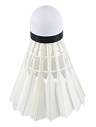 1 Piece Badminton Shuttlecocks Low Windage High Strength High Elasticity Durable for Outdoor Practise Leisure Sports Plastic