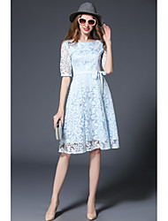 Sign spot 2017 spring new high-end ladies gauze dress embroidered dress skirt long section