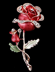 Women's Brooches Love Alloy Jewelry For Wedding Party Special Occasion Halloween Daily Casual