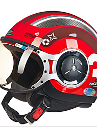 ZHUS motorcycle helmet MOMO modeling pedal half helmet retro Halley flying helmet 218C