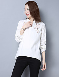 Sign 2017 spring new female literary fresh embroidery loose shirt was thin blouses women