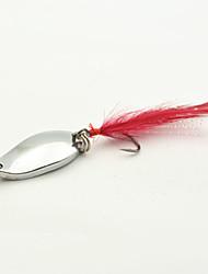 10 pcs Poissons nageur/Leurre dur Argent 5 g Once mm pouce,Métal Pêche générale