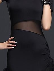 Jazz Dresses Women's Performance Linen 1 Piece Short Sleeve Natural Dress