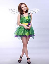 Costumes de Cosplay Conte de Fée Ange et Diable Fête / Célébration Déguisement d'Halloween Couleur Pleine Robe AilesHalloween Carnaval