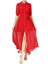 Weiya ji equipado outono e inverno 2016 nova onda de senhoras camisa temperamento vestido europeus e americanos Cardigan esfregar