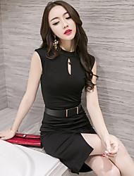Le fait vraiment faire des femmes professionnelles 2017&# 39; s fashion sexy pack hip ol temperament korean slim summer dress